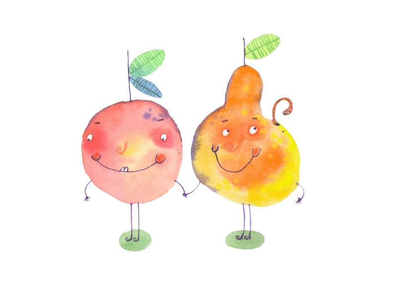 Apfel und Birne gehören zusammen wie »wie« und »als«